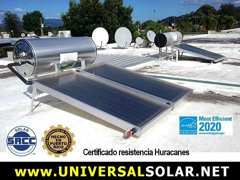 Solar water heaters Puerto Rico