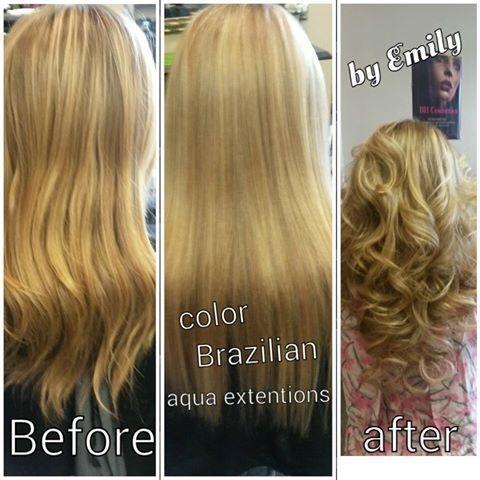 uniontown, pennslyvania, hair salon, hair color, brazilian, extensions