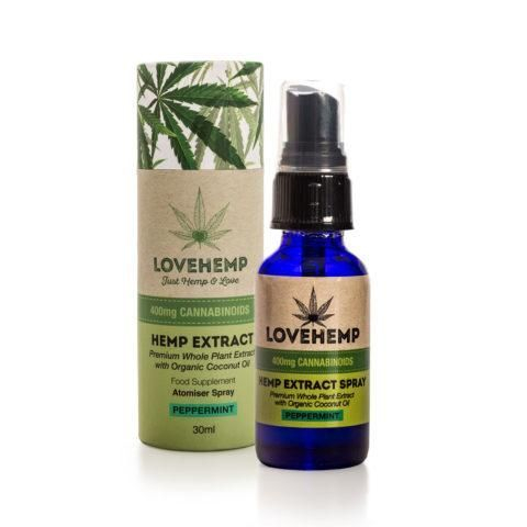 Love Hemp CBD Oil Spray 400mg