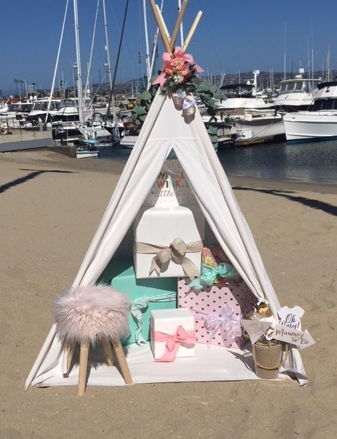 Baby shower rentals, party rentals, teepee, party planner,  baby shower, baby, teepees, teepee, tipi, tipi rentals, Newport Beach, Ca, Orange County