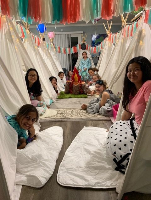 kids party rentals, party rentals, teepee rentals, teepee, kids parties, kids birthday party, party planner, camping, glamping, Newport Beach, Orange County, CA