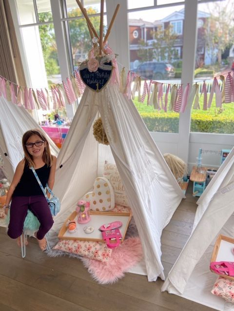 Teepee rental, kids party rentals, kids party rental, teepee party, teepee sleepover, teepee birthday party, kids birthday party, kids party planner, Newport Beach, Orange County