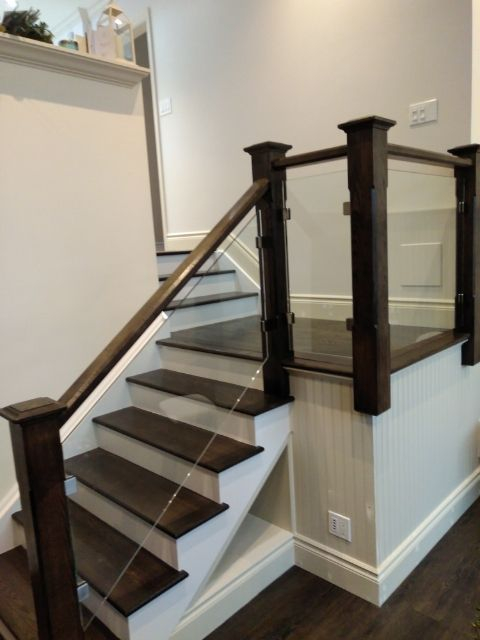 Glass Staircase, Glass Railings, Toronto, Markham,Newmarket, Richmond Hill, Stouffville