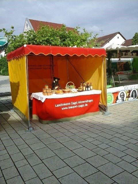 Wochenmarkt Oberdischingen Zagst Imker Verkauf