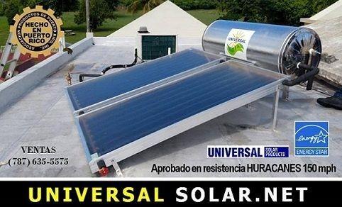 Calentador Solar Blue Forest Puerto Rico 787-635-5575