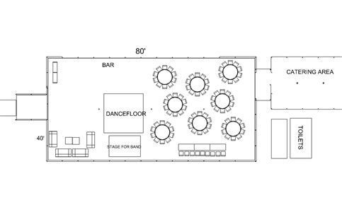 Detailed layout drawing