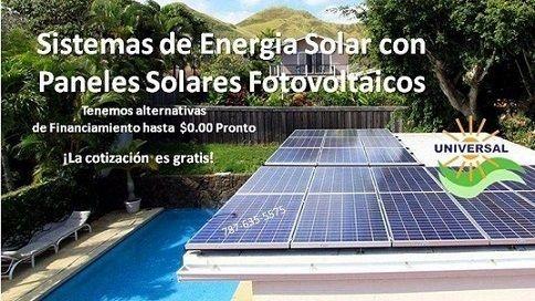 Placas solares de energia