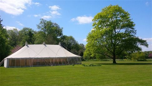 Canvas traditional marquee