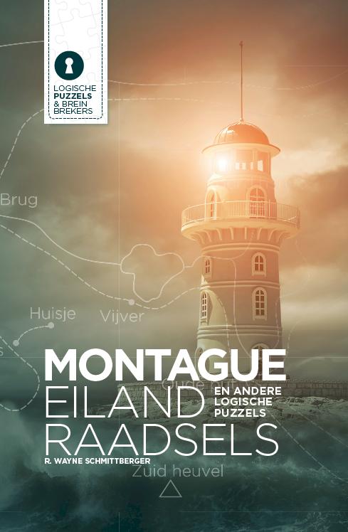 Cover van Montague Eiland raadsels, vertaald door Anne Oosthuizen