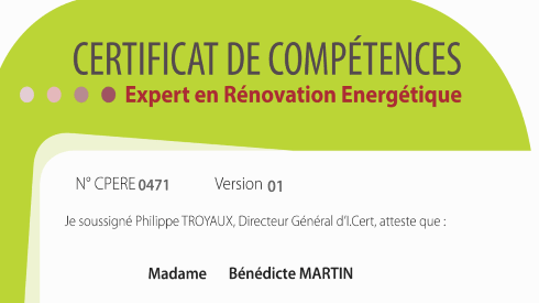 Expert en rénovation énergétique ERE