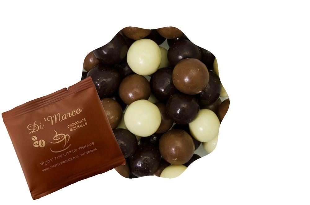 chocolate rice balls per porte voor de horeca