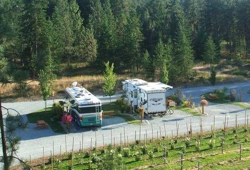 Kelowna RV Rental at Canyon Farms RV Park