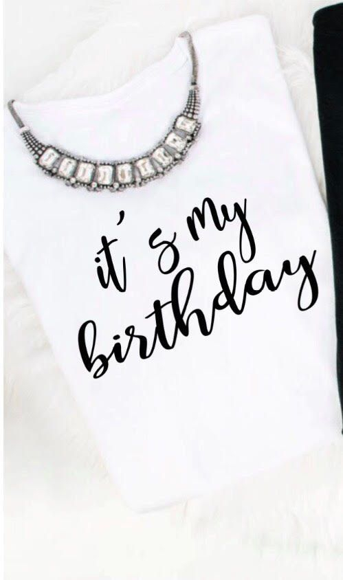 birthday, birthday t-shirts, t-shirts, tees
