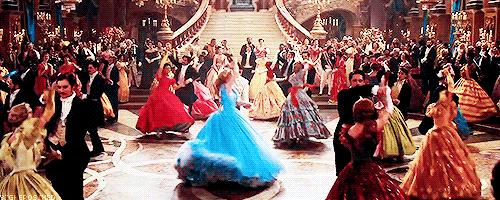 10 Princesses at the ball