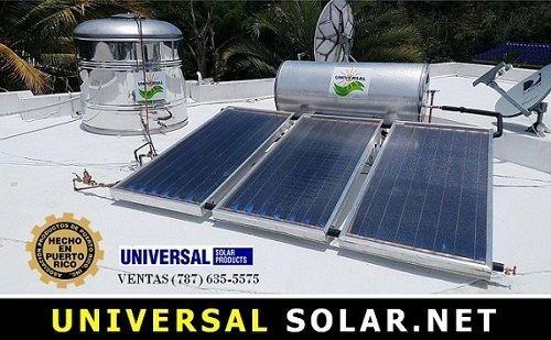 Calentador solar 2 placas