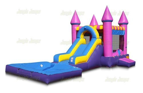 Bounce House Combo With Pool