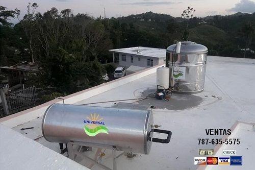 $600 descuento - Calentador Solar y Cisterna