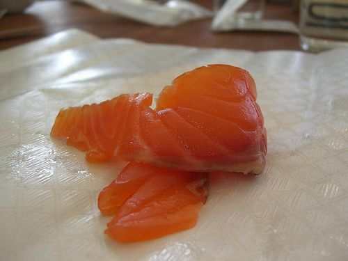 smoked salmon, smoked salmon flatbread