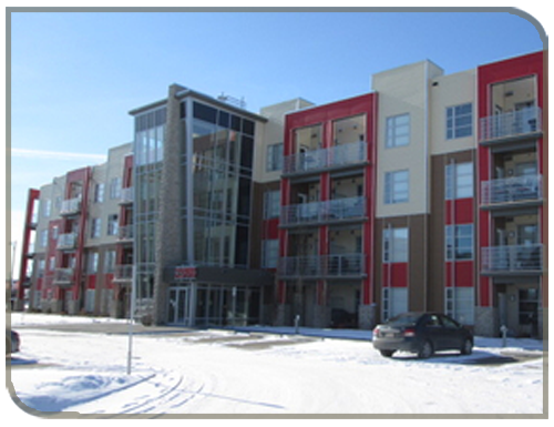 red condominium property owners and managers
