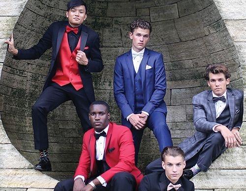 tuxedo prom group