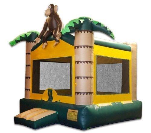 Jungle Monkey Bounce House