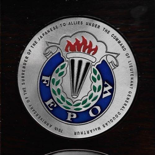 FEPOW medallion, military history, WWII