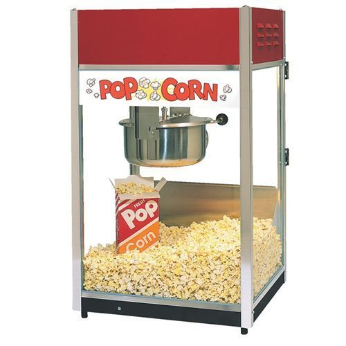 SVS Popcorn Machine Contact us for more details at (415) 787-2424.