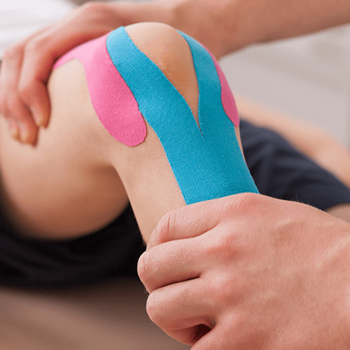 On Point Physio Ltd. - Kinesiology tape knee, Epsom