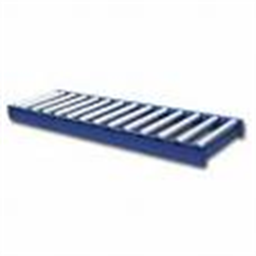 """Roller Conveyors  Our conveyors meet USDA standards and are suitable for use with food equipment and for washdown applications. Frames are 12 ga., 2 1/2"""" high, and have coupling plates at each end for connecting conveyor sections. Rollers are 16 ga. with Delrin-encased stainless steel ball bearings and 7/16"""" hex spring-loaded axles spaced 3"""" center-to-center.  (We carry many different styles)"""