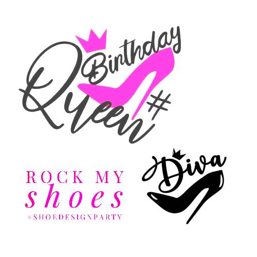 shoe birthday party