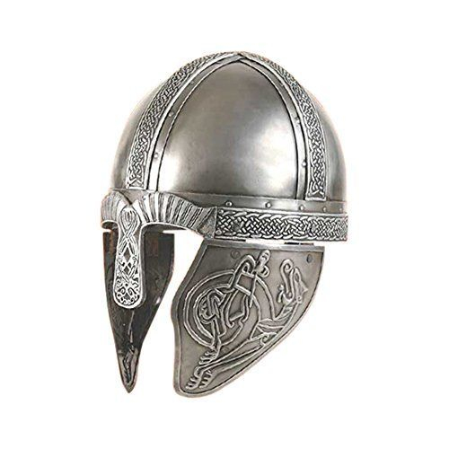 viking helmet embossed steel amazon