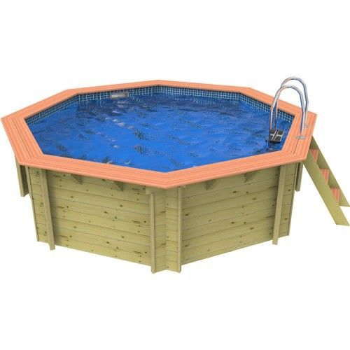 Plastica Knightsbridge Wooden Swimming Pool - 4m Octagonal