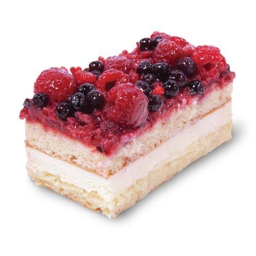Mixed berry sheetcake