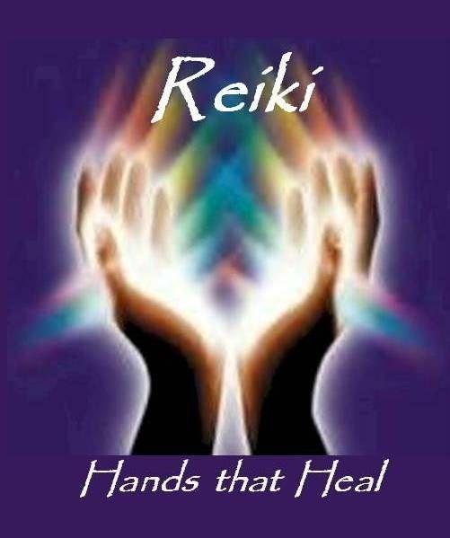 Reiki hands that heal