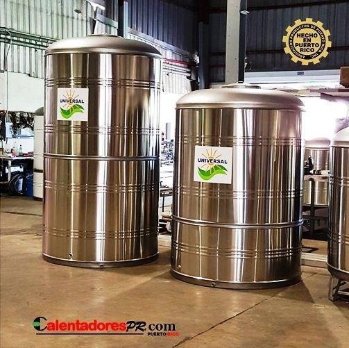 Tanque de Agua 1,200 galones en Inox 304