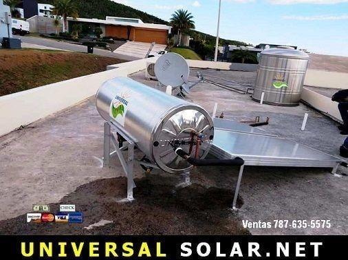 Instalacion 850,000 calentador solar y cisterna 787-635-5575