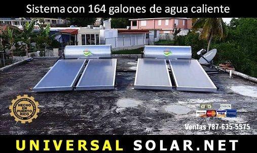 Calentador Solar Comercial