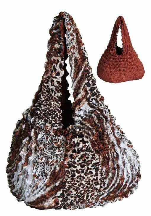 Bag119 Ouside Tiger Print Inside Chestnut