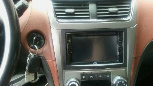 JVC double din dvd radio