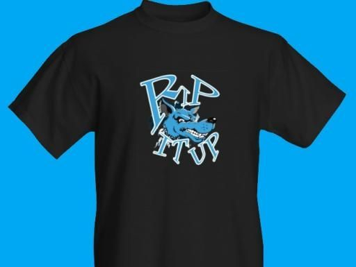 Rip It Up Rockabilly Live Band Logo T-Shirts