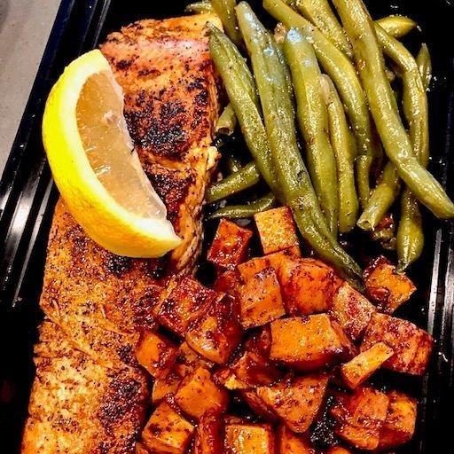 salmon Box Lunch