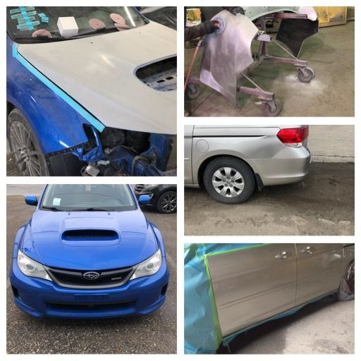 Paint, scratch, dent repair