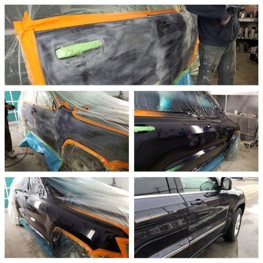 2011 Jeep Grande Cherokee laedo door repair