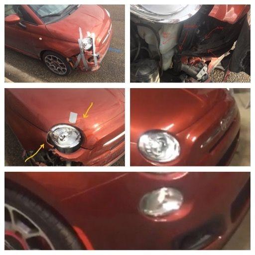bumper and fender repair