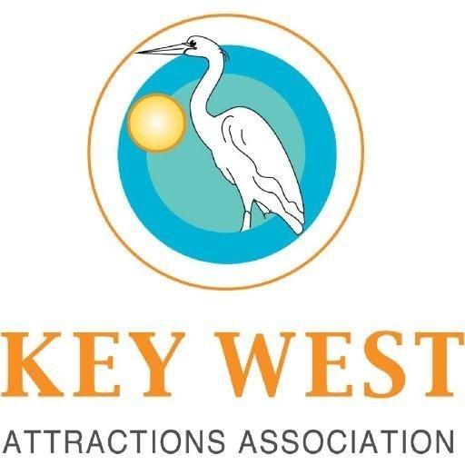 Key West Attractions Association crane  & sun logo
