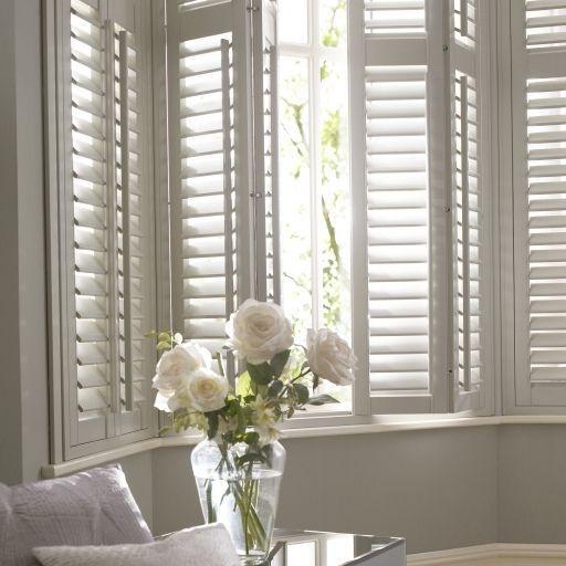 Photo of white shutters