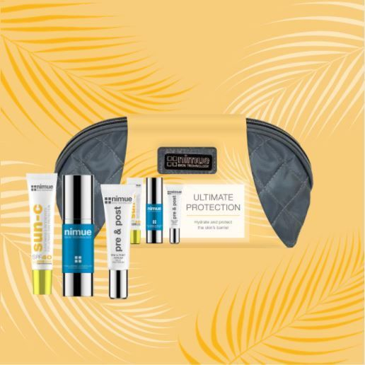sunscreen, sun protection, SPF, Nimue, Hyaluronic Acid, Serum