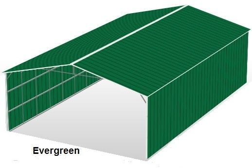 Evergreen Color Metal Structures