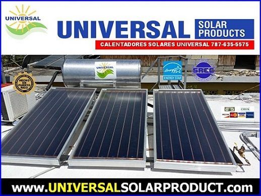Calentador solar residencial con 3 placas