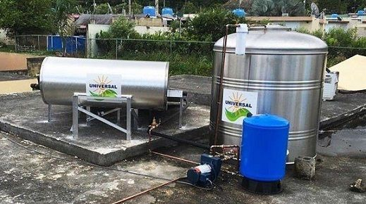 Oferta de cisterna y calentador solar